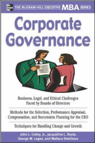 PDF][Download] Corporate Governance (Executive MBA Series
