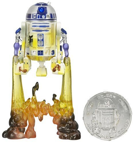 STAR WARS 3.75 'BASIC FIGURE R2-D2