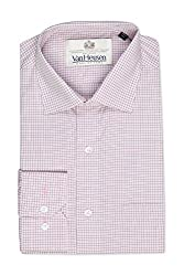 Van Heusen Mens Formal Shirt (8907485181021_VHSF316M07727_40_Beige)