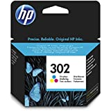 HP 302 Cartouche d'encre Multicolore