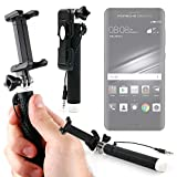 DURAGADGET Palo Selfie (Selfie-Stick) para Smartphone Huawei Mate 9 / Huawei Mate 9 Porsche Design