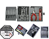 Hand Tool Kit Set - 25 Piece Mini Hand Tool Set, Standard Screwdriver Set (25 in 1) | Tool kit set for Mobiles,Cars,Computers,Watches ( Screw Driver, Cutter and pliers etc with set of 25pcs ) | Hobby Tools Kit | Screwdriver Set |