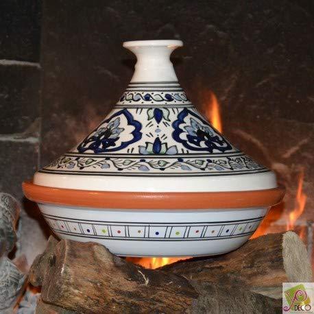 Tajine de cuisson Zina Arbi - D 31 cm traditionnel