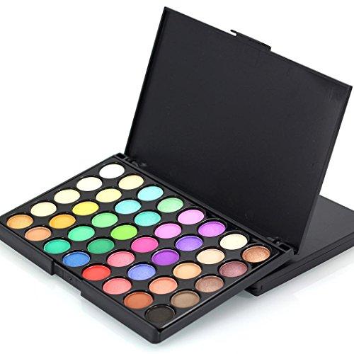 Yogogo 40 Farben Kosmetik Pulver Matt Lidschatten Palette Bilden Set 40 Palette