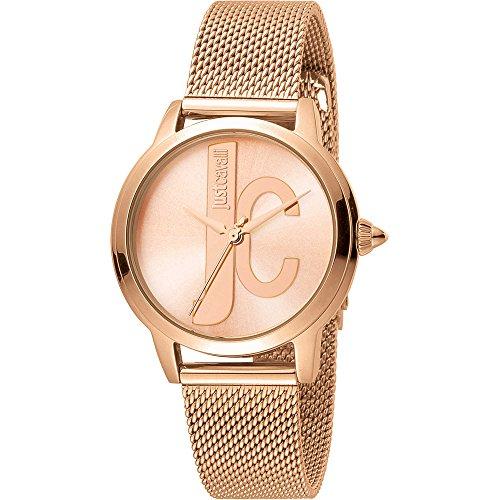 Uhr nur Zeit Damen Just Cavalli Logo Trendy Cod. jc1l050m0095