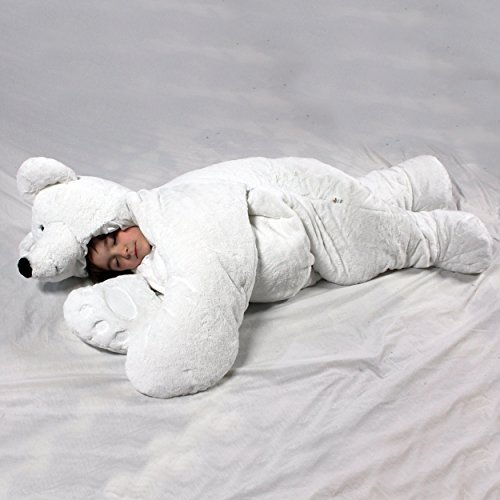 NO.1# POLAR BEAR SLEEPING BAG FOR CHILDREN AND ADULTS