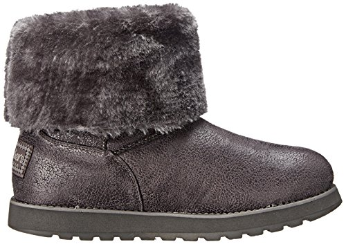 Skechers Keepsakes Leather-esque, Bottes femme Gris - Grey (Ccl)