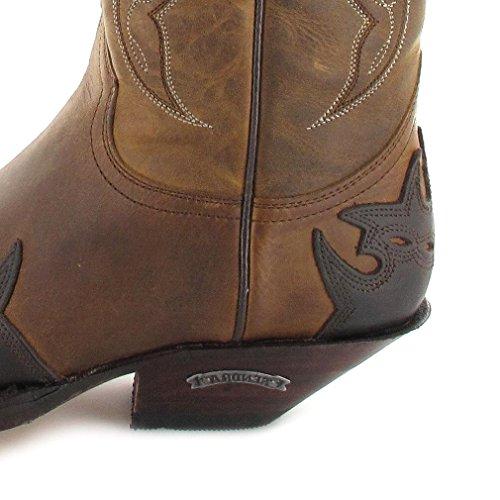 Sendra Boots Stiefel 2560 Westernstiefel Cowboystiefel (in verschiedenen Farben) Chocolate Tang