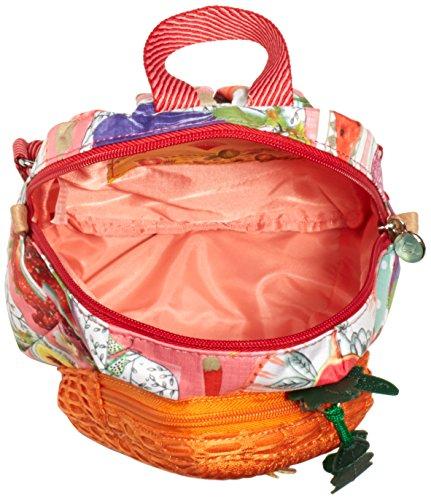 Oilily Oilily Carrot Backpack OES6206-306 Damen Rucksackhandtaschen 17x23x9 cm (B x H x T) Pink (Lemonade 306)