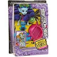 Monster High FCV67 Monster Family Ebbie Bluedoll