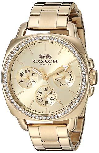 COACH Damen Boyfriend Boyfriend Jeans (Relaxed) One Size Gold - Coach Gold Uhren Frauen