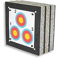 STRONGHOLD Schaumscheibe Crossbow Max bis 250 lbs / 440 fps (60x60x30cm)   Zielscheibe ohne Zubehör