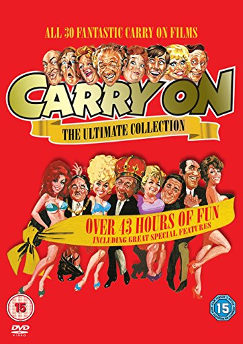 Carry On - The Complete Collection [DVD] Boxset - Every Movie from 1958 to 1978.