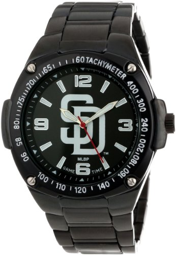 game-time-unisex-mlb-war-sd-warrior-san-diego-padres-analogique-3-hand-orologio
