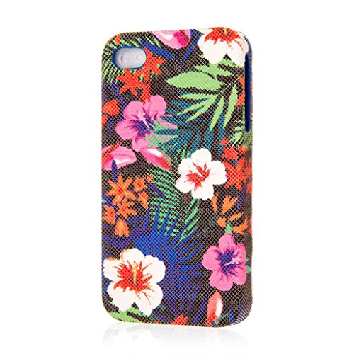 Empire Signature Series Coque fine pour Apple iPhone 4/4S _ P Hawaiian Blue Tropics