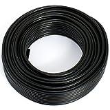 Lautsprecherkabel 2x1,5mm² - schwarz - 10m - CCA - Audiokabel - Boxenkabel