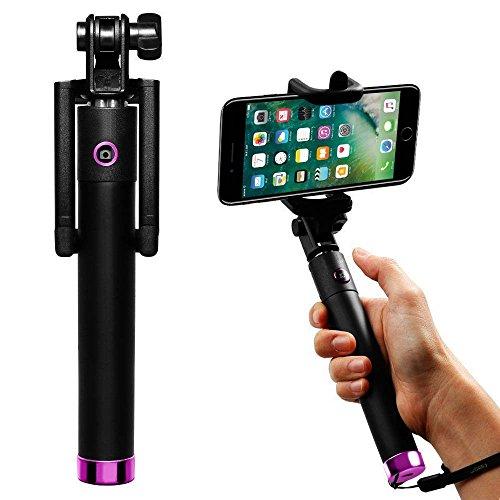 Preisvergleich Produktbild (Pink) Selfie Stick Huawei Honor 5C selfie kompakter desine i -Tronixs¨ [Neue Version] Fernauslöser Wireless-Selfie Stock, Perfectday faltbare Erweiterbar Hand Einbeinstativ Reisenden (Amazing 20 Stunden Akkulaufzeit), Familienunterhaltung, Freund und Gruppenbilder i -Tronixs