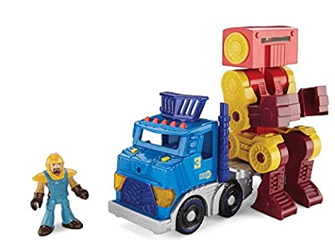 Camion Playskool - Fisher-Price Grand Camion avec Robot et la
