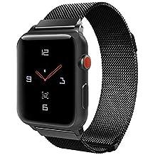 TiMOVO Correa para Apple Watch 42mm 44mm, Premium Milanese Loop Correa de Reemplazo de Acero