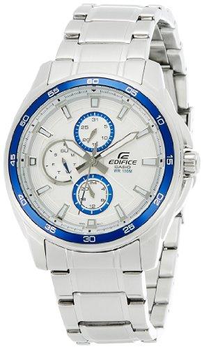 512ILS nCyL - Casio Edifice Silver Mens EF 334D 7AVDF ED422 watch