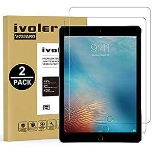 iVoler [2 Pack] Pellicola Vetro Temperato per iPad 9.7 Pollici 2018 / iPad 9.7 Pollici 2017 / iPad PRO 9.7 Pollici 2016 / iPad Air/iPad Air 2, Pellicola Protettiva, Protezione per Schermo