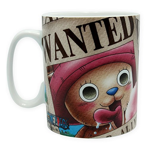 Taza ONE PIECE Chopper Wanted 460 ML