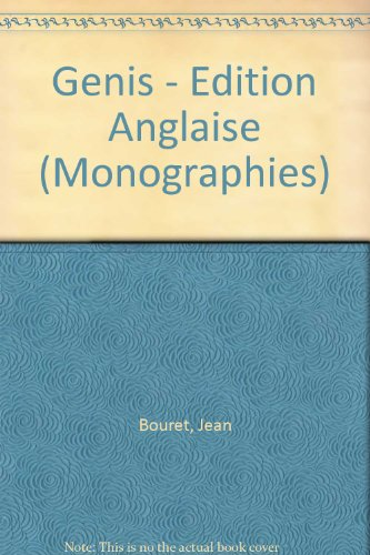 Génis (Edition anglaise)