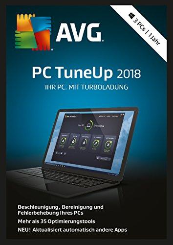 S.A.D AVG PC TuneUp (2018) - 3 PCs / 1 Jahr