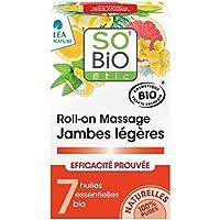 SO 'BIO ETIC - Massage Roll On Light Legs - mit 7 natürlichen ätherischen Ölen - entwässernde und erfrischende... preisvergleich bei billige-tabletten.eu