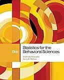 Cengage Advantage Books: Statistics for the Behavioral Sciences by Frederick J Gravetter (2012-01-01)