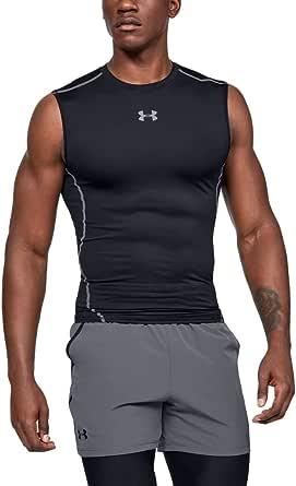 Under Armour Men's HeatGear Armour Sleeveless Compression T-shirt