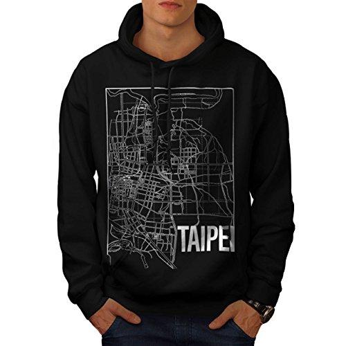 taiwan-city-taipei-old-town-map-men-new-black-l-hoodie-wellcoda