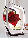 IGEA Rose im Glas mit LED
