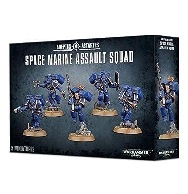 Games Workshop Jeux Atelier 99120101212Space Marine Assault Squad Dessus de Table et de Jeux Miniature