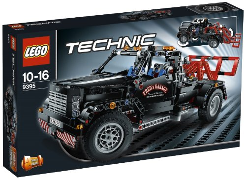 LEGO-Technic-9395-Pick-Up-Tow-Truck