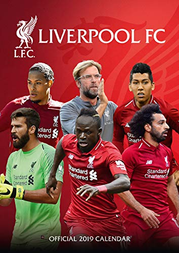 The Official Liverpool F.c. 2019 Calendar