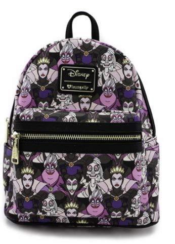 Loungefly Disney Rucksack Backpack Daypack Villains Ursula Böse Königin Maleficent