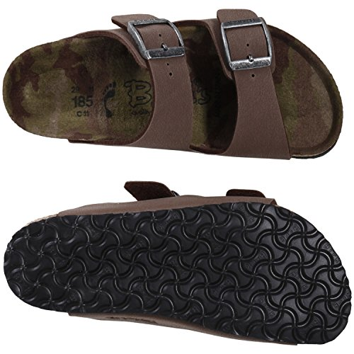 Birki's Arizona, Chaussures de Claquettes mixte adulte Moka