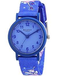 Regent Unisex-Armbanduhr Analog Quarz Textil 12400233