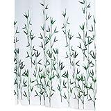 Ridder 473050-350 Duschvorhang Textil 180 x 200 cm Bambus grün