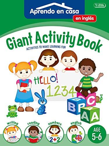 SÚPER ACTIVIDADES EN INGLÉS 5-6: Aprendo En Casa Inglés. 5-6 Años: 4 (APRENDO EN CASA SÚPER ACTIVIDADES EN INGLÉS) por Vv.Aa