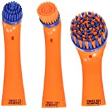 All Purpose Sonic Scrubber Power Cleaner Interchangeable Brushes by SonicScrubber