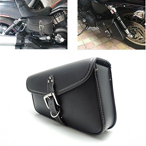 Schwarz Motorrad Tasche motorrad Satteltaschen Tasche für Sportster Softail