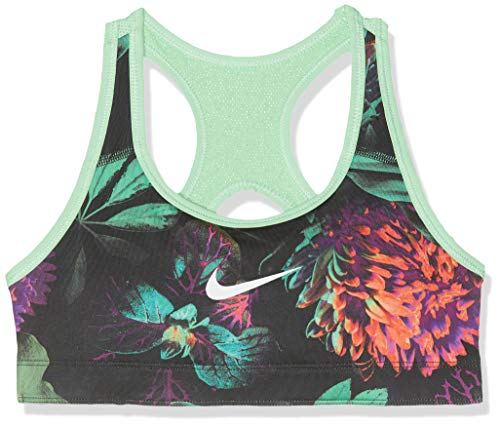 Nike Mädchen G NP Classic REV AOP1 Sports Bra, Frosted Spruce/Aphid Green/WHI, XS -