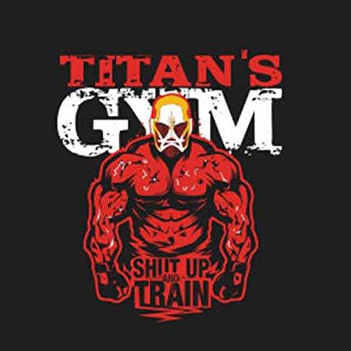 Titans Gym - Borsa Di Stoffa / Borsa Grigia