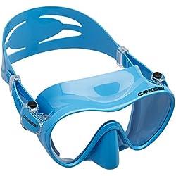 Cressi F1 Jr Frameless Masque enfant de plongée/natation Bleu
