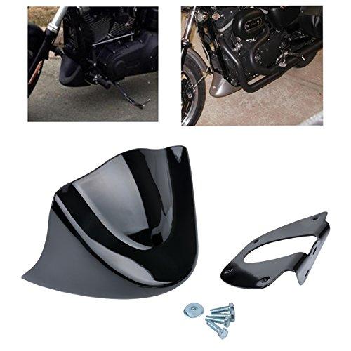 KaTur - Alerón Delantero Inferior para Harley Davidson Sportster 2004 – 2014 XL883 XL1200 2004 – 2015