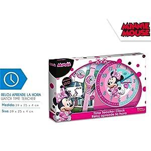 Minnie Mouse- Set aprende Las Horas de Minnie (WD19806), (Kids Licensing 1)