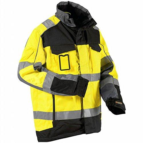 Blakläder Winter Warnschutzjacke wasserabweisend 4851 gelb/schwarz