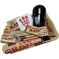 SMO King X Raw fumadores Delight papel de liar, molinillo Mini bandeja Set de regalo